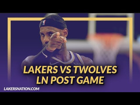 Video: Lakers Nation Discussion: Lakers Beat the T-Wolves, Tyson Chandler's Debut, & Head Band LeBron