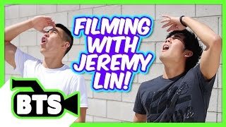 Filming with Jeremy Lin! (BTS)