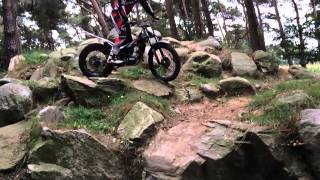 7. Beta Evo 300 Trial SlowMotion Action Jarmo Robrahn Part 1 #BetaRacing