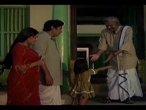 Apadbandhavulu Movie Scenes - Sridhar father welcoming Sharada - Geetha 24 April 2014 08 PM