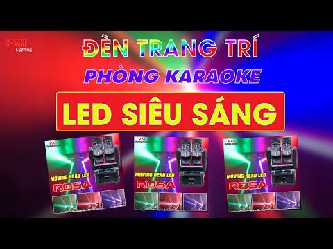 Đèn moving HipHop đảo xoay cắt kéo 8 mắt thích hợp sử dụng Karaoke Vip, Cafe DJ