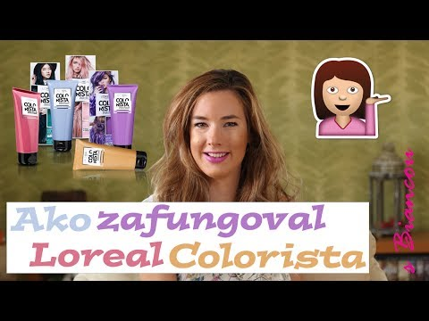 Recenzia a postup Loreal Colorista wash-out| BiancaPrincipessa