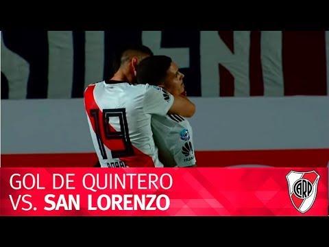 Gol Juan Fernando Quintero vs. San Lorenzo