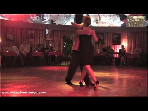 Mon y Kuva en Slota milonga, Varsovia, tango en Polonia