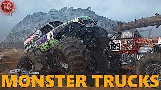 SpinTires MudRunner: MONSTER TRUCKS