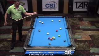 2014 CSI USBTC 8 Ball: Corey Deuel Vs Stan Tourangeau