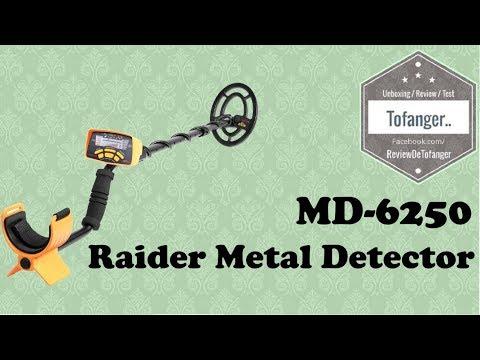 MD-6250 : Raider Metal Detector