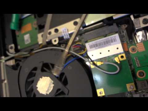 the video card acer aspire 7741 laptop replacing the motherboard