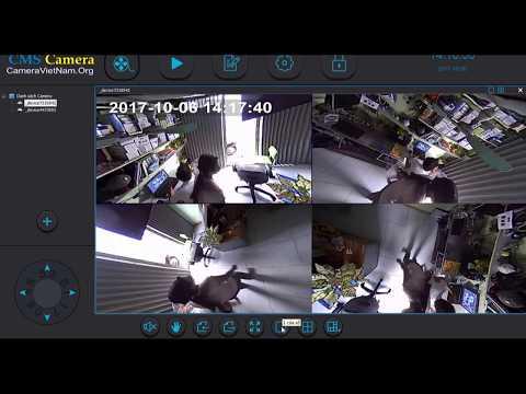 Hướng dẫn sử dụng phần mềm  camera giám sát ip YYP2P CMS Camera PC Việt hóa