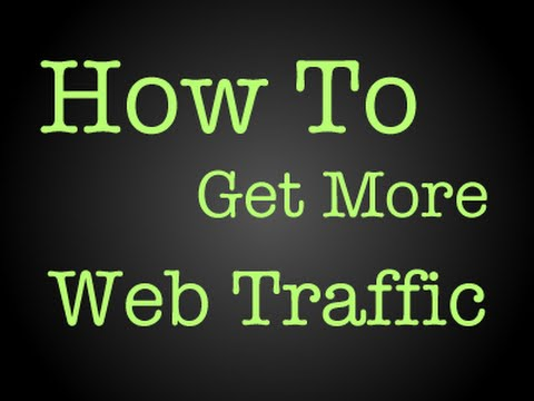 how to get more hits on your website