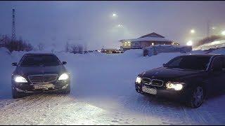BMW 7 vs Mercedes W 221. С одним из этих АВТО придется попрощаться.