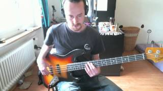 """Bass line for """"Wakaria (What's Up?)"""" by the The Brecker Brothers"""