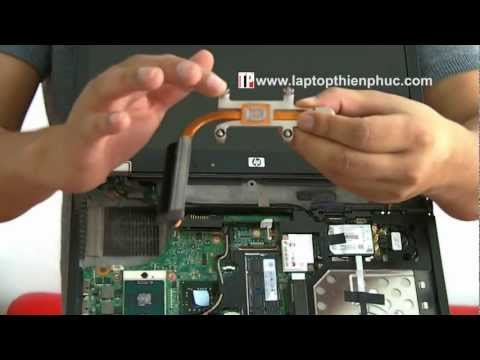 Hướng dẫn tháo lắp và vệ sinh laptop hp elitebook 6930p phần 2
