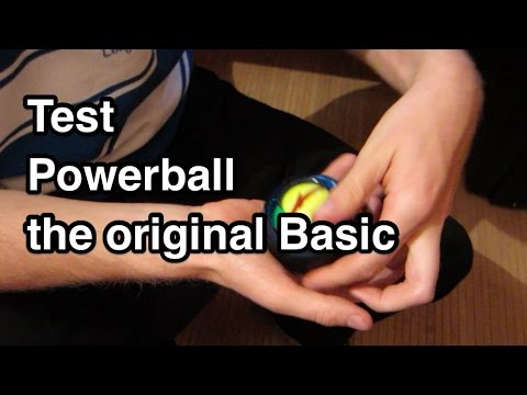 Test Powerball the original Basic | GyroTwister Classic