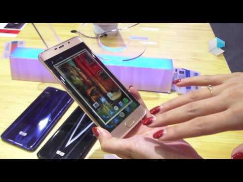 Elephone S7 with 3D edge display