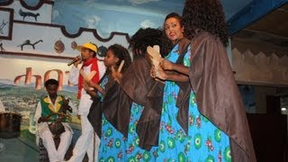 Dancers At The 2000 Habesha Cultural Restaurant In Addis Ababa