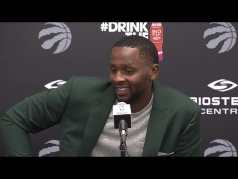 Video: Miles ready to bring selflessness and leadership to Raptors