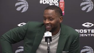 C.J. Miles talks about what attributes as a player he brings to the Toronto Raptors.