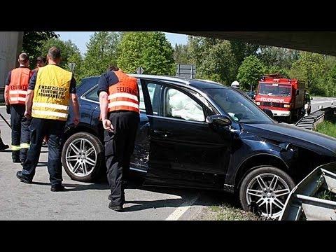 Frankenberg: Vier Verletzte bei Zusammenstoß