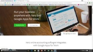 Xero and google connect