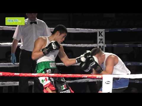 Velada Anaitasuna kickboxing combate 2 2 cámara lenta