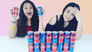 No elijas la Coca Cola o Pepsi incorrecta Slime challenge. Don't choose the wrong coca cola or pepsi