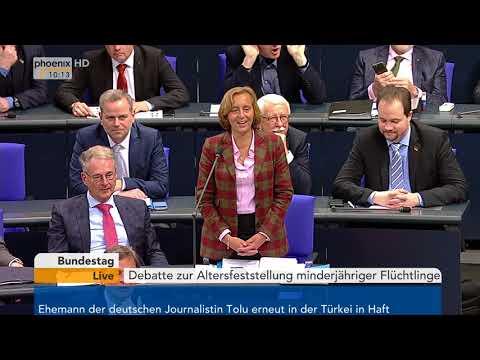 Bundestagsdebatte zur Altersfeststellung minderjähriger ...