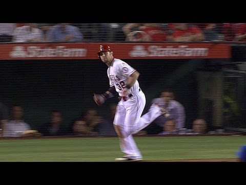 Video: KC@LAA: Hamilton smashes solo homer in sixth