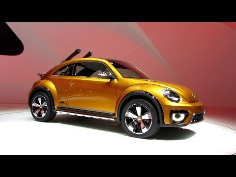 2015 Volkswagen Beetle Dune - Exterior and Interior Walkaround - Debut at 2014 Detroit Auto Show