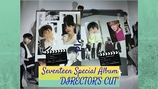 Unboxing SEVENTEEN SPECIAL ALBUM (DIRECTOR'S CUT)