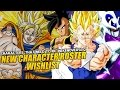 Dragon Ball Xenoverse 2: New Character Roster Wishlist! (Dragon Ball,DBZ,Movies, & More)