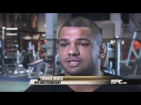 Thiago Alves Prefight Interview vs Jon Fitch