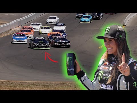 Hailie Deegan Fastest On Track! Sonoma Raceway K&N West