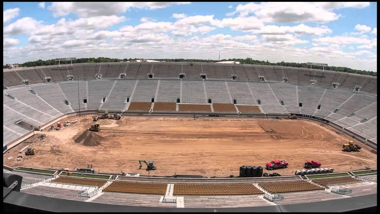 Notre Dame Stadium Time Lapse
