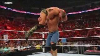 WWE Raw 5/2/11 - John Cena vs. The Miz - Championship Match *HD*
