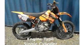 1. 2006 KTM SX 450 Features