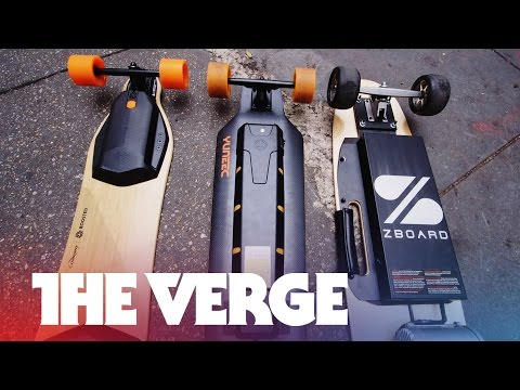 electric - Electric rideables are the new craze. So join The Verge's resident skateboarder Sam Sheffer for a tour of the landscape. Subscribe: http://www.youtube.com/su...