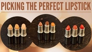 There are so many types, colors and forumulas of lipstick out there that it can be overwhelming to pick the perfect shade and finish. Learn all you need to know about the terminology and specific formulas so you're prepared next time you go lipstick shopping!