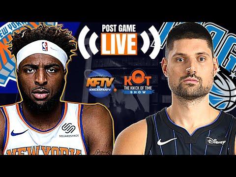 New York Knicks vs. Orlando Magic Post Game Show | Highlights & LIVE Caller Reactions | 1.18.21