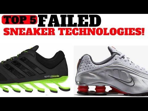 Top 5 FAILED Sneaker Cushioning Technologies!