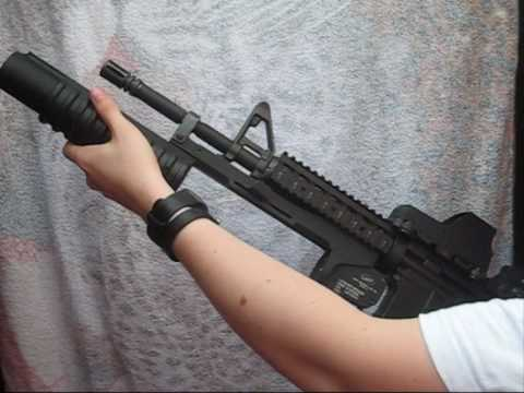 M4SOPMOD - In this video I show how I fitted a G&P M203 grenade launcher on the M4 SOPMOD tokyo marui. I bought the M4 on uncompany (about 500 USD). I bought the M203 o...