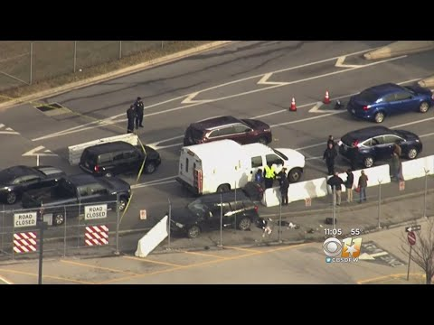 Suspects Held, SUV Stopped After Shooting At NSA