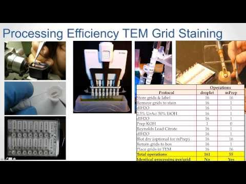 Webinar on 18 Feb 2015: TEM & SEM Sample Prep with mPrep System