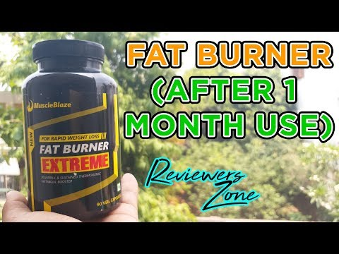 Fat Burner  AFTER USE REVIEW