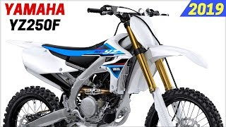 10. NEW 2019 Yamaha YZ250F - Redesign And New Features With A Wireless Smartphone Based Engine Tuner
