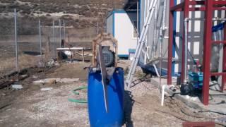 Rüzgar türbini için kuyruk modeli, aktuatör kullanarak nasıl kuyruk kaydırılır ve kanatlar ile sistem nasıl korumaya alınır