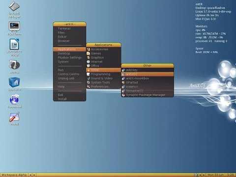 antiX 15 Full Review - Ultimate Minimalism in Debian-based Distro