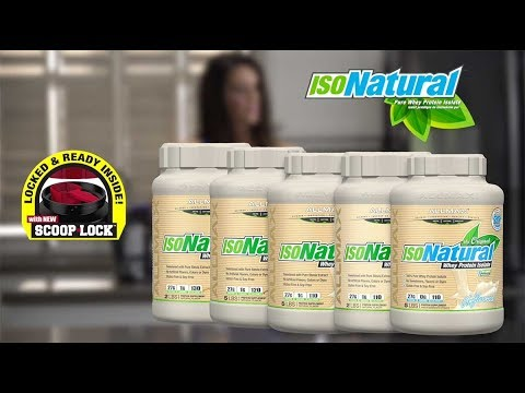 ALLMAX ISONATURAL – A 100% PURE WHEY PROTEIN ISOLATE