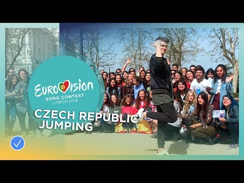 Mikolas Josef from the Czech Republic jumps to the Grand Final