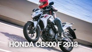 7. TEST EXCLUSIF | HONDA CB 500 F 2013, une légende au goût du jour